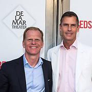 NLD/Amsterdam/20140622 - Premiere Bedscenes, Roel Vente en partner Berend Dinkla