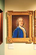 Painting of John Pigot (1716-94) by William Hoare 1740, Weston-super-Mare museum, Somerset, England, UK