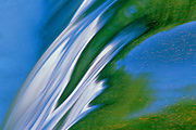 Rainbow Falls detail<br /> Whiteshell Provincial Park<br /> Manitoba<br /> Canada