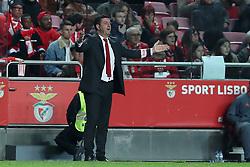 December 23, 2018 - Lisbon, Portugal - Benfica's head coach Rui Vitoria gestures during the Portuguese League football match SL Benfica vs SC Braga at the Luz stadium in Lisbon on December 23, 2018. (Credit Image: © Pedro Fiuza/NurPhoto via ZUMA Press)