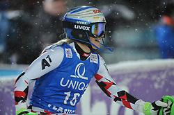 15.01.2016, Hermann Maier Weltcupstrecke, Flachau, AUT, FIS Weltcup Ski Alpin, Flachau, Damen, Slalom, 2. Lauf, im Bild Eva-Maria Brem (AUT) // Eva-Maria Brem of Austria reacts after her 2nd run of Ladie's Slalom for the FIS Ski Alpine World Cup at the Hermann Maier Weltcupstrecke in Flachau, Austria on 2016/01/15. EXPA Pictures © 2016, PhotoCredit: EXPA/ Erich Spiess