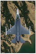 F-16C top down view