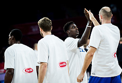 Awudu Abass of Italy during basketball match between National Teams of Finland and Italy at Day 10 in Round of 16 of the FIBA EuroBasket 2017 at Sinan Erdem Dome in Istanbul, Turkey on September 9, 2017. Photo by Vid Ponikvar / Sportida