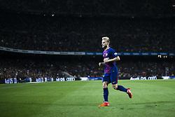 October 21, 2017 - Barcelona, Catalonia, Spain - Ivan Rakitic from Croatia of FC Barcelona during the La Liga match between FC Barcelona v Malaga at Montilivi Stadium on October 21, 2017 in Barcelona, Spain. (Credit Image: © Xavier Bonilla/NurPhoto via ZUMA Press)