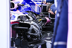 February 18, 2019 - Barcelona, Barcelona, Spain - SportPesa Racing Point F1 Team interior body parts in the box during the Formula 1 2019 Pre-Season Tests at Circuit de Barcelona - Catalunya in Montmelo, Spain on February 18. (Credit Image: © Xavier Bonilla/NurPhoto via ZUMA Press)