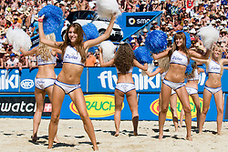Zipfer girls at A1 Beach Volleyball Grand Slam tournament of Swatch FIVB World Tour 2010, final, on August 1, 2010 in Klagenfurt, Austria. (Photo by Matic Klansek Velej / Sportida)
