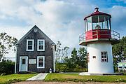 St Paul island museum, Cape Breton Highlands National Park, Dingwall, Cape Breton Island, Nova Scotia, Canada, USA