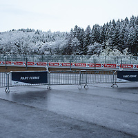 Snow on race day early in the morning on 04/06/2019 at the Spa 6H, 2019