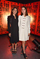 """Esther Freud and her daughter Anna Morrissey at """"Hoping For Palestine"""" Benefit Concert For Palestinian Refugee Children held at The Roundhouse, Chalk Farm Road, England. 04 June 2018."""