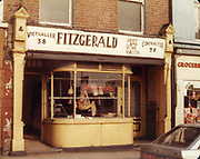 Old Dublin Amature Photos March 1984 WITH, Butchers shop, Parkgate st, Harrolds Cross, Terenure Alleyways, Reginald St, Long Mile Rd, Church, Fitzgerald, Victualler,
