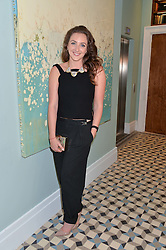 NATASHA CORRETT at the Grand opening of Library - a new members club at 112 St Martin's Lane, London on 25th June 2014.