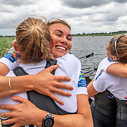 Lucy Spoors <br /> <br /> Compete in the A Finals at FISA World Rowing Cup III on Sunday 14 July 2019 at the Willem Alexander Baan,  Zevenhuizen, Rotterdam, Netherlands. © Copyright photo Steve McArthur / www.photosport.nz