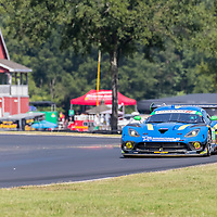 Alton, VA - Aug 26, 2016:  The Lone Star Racing ACS Manufacturing Dodge Viper GT3-R races through the turns at the Michelin GT Challenge at VIR at Virginia International Raceway in Alton, VA.