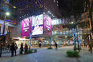 The Breeze Center Xinyi is a large complex of shopping malls near Taipei 101 in Taipei, Taiwan.