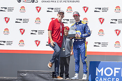 March 11, 2018 - St. Petersburg, Florida, United States of America - March 11, 2018 - St. Petersburg, Florida, USA: Alexander Rossi (27) finishes third during the Firestone Grand Prix of St. Petersburg at Streets of St. Petersburg in St. Petersburg, Florida. (Credit Image: © Justin R. Noe Asp Inc/ASP via ZUMA Wire)