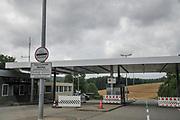 The German Swiss boarder crossing