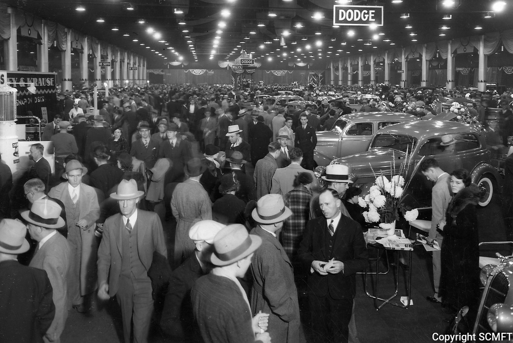 1935 Auto Show at The Pan-Pacific Auditorium