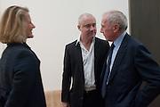 DAMIEN HIRST; FRANCOIS PINAULT, Damien Hirst, Tate Modern: dinner. 2 April 2012.