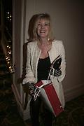Julia Somerville,  Costa Book Awards 2006. Grosvenor House Ballroom. Park Lane, London. 7 February 2007. -DO NOT ARCHIVE-© Copyright Photograph by Dafydd Jones. 248 Clapham Rd. London SW9 0PZ. Tel 0207 820 0771. www.dafjones.com.