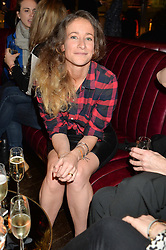 LEAH WOOD at the Launch Of Osman Yousefzada's 'The Collective' 4th edition with special guest collaborator Poppy Delevingne held in the Rumpus Room at The Mondrian Hotel, 19 Upper Ground, London SE1 on 24th November 2014, sponsored by Storm models and Beluga vodka.