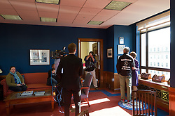 Gary Allen's Maine to DC run; day-after meet and greet at Senator Susan Collins office