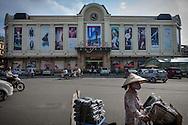 Activity ouside Hang Da market, Hanoi, Vietnam, Southeast Asia