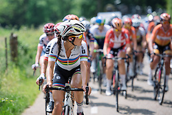 Lizzie Armitstead (Boels Dolmans) at Boels Hills Classic 2016. A 131km road race from Sittard to Berg en Terblijt, Netherlands on 27th May 2016.