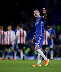 File photo dated 28-01-2017 of Chelsea's John Terry.