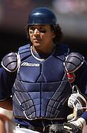 Image © 2005 David Richard<br /><br />Cleveland Indians catcher Victor Martinez