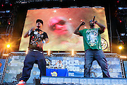 Yung Berg and Ray J at The 2008 Hot 97 Summer Jam held at Giants Stadium in Rutherford, NJ on June 1, 2008...Summer Jam is the annual hip-hop fest held at Giants Stadium and sponsored by New York based radio station Hot 97FM.