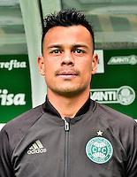 """Brazilian Football League Serie A / <br /> ( Coritiba Foot Ball Club ) - <br /> Bernardo Vieira de Souza """" Bernardo """""""