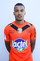 Kevin Afougou of Laval during Laval squad photo call for the 2016-2017 Ligue 2 season on September, 7 2016 in Laval, France ( Photo by Philippe Le Brech / Icon Sport )