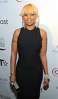 Mary J Blige at the BET Inaugural Gala, held at the Mandarin Oriental Hotel in Washington, DC