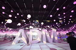 November 1, 2018 - Hangzhou, China - Logo in main hall at The Asia Design Management Forum and Ideal Life Fair (ADM) 2018 is held in Hangzhou, east China's Zhejiang Province. (Credit Image: © SIPA Asia via ZUMA Wire)