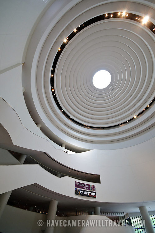 Main atrium of the Smithsonian National Museum of the American Indian