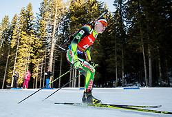 Raman Yaliotnau (BLR) during Men 12,5 km Pursuit at day 3 of IBU Biathlon World Cup 2015/16 Pokljuka, on December 19, 2015 in Rudno polje, Pokljuka, Slovenia. Photo by Vid Ponikvar / Sportida