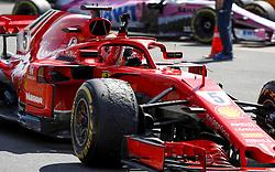 July 8, 2018 - Silverstone, Great Britain - Motorsports: FIA Formula One World Championship 2018, Grand Prix of Great Britain, ..#5 Sebastian Vettel (GER, Scuderia Ferrari) (Credit Image: © Hoch Zwei via ZUMA Wire)