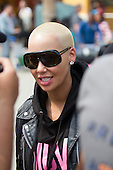 Amber Rose Arrives in Curacao