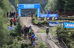 Finnley Iles of Specialized Gravity during day two of the 2017 UCI Mountain Bike World Cup at Fort William. PRESS ASSOCIATION Photo. Picture date: Sunday June 4, 2017. Photo credit should read: Tim Goode/PA Wire. RESTRICTIONS: Editorial use only, no commercial use without prior permission