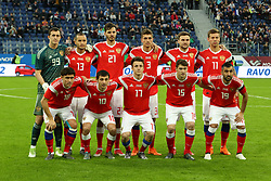 March 27, 2018 - St. Petersburg, Russia - March 27, 2018- Russia, St. Petersburg. Friendly football match between Russia v France. (Credit Image: © Russian Look via ZUMA Wire)