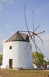 View of traditional windmill