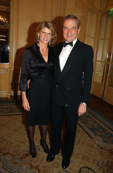 LUCA & SARA CUMANI at the Cartier Racing Awards 2006 held at the Four Seasons Hotel, Hamilton Place, London on 15th November 2006.<br />