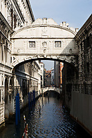 ponte dei sospiri the bridge of sighs in the beautiful city of venice in italy