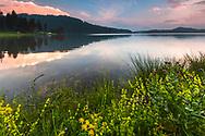 Shiroka Polyana lake in Rhodope Mountains