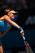 Daniela Hantuchova (SVK) faced S. Williams (USA) in the third round of the 2014 Australian Open. Williams won the match 6-3, 6-3. Extreme heat warnings were in effect as the tournament moved into its fifth day in Melbourne.