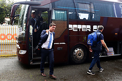 Bristol Rovers manager Darrell Clarke arrives at Gigg Lane - Mandatory by-line: Matt McNulty/JMP - 19/08/2017 - FOOTBALL - Gigg Lane - Bury, England - Bury v Bristol Rovers - Sky Bet League One