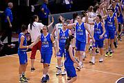 DESCRIZIONE : Roma Amichevole Pre Eurobasket 2015 Nazionale Italiana Femminile Senior Italia Ungheria Italy Hungary<br /> GIOCATORE : team<br /> CATEGORIA : postgame fairplay<br /> SQUADRA : Italia Italy<br /> EVENTO : Amichevole Pre Eurobasket 2015 Nazionale Italiana Femminile Senior<br /> GARA : Italia Ungheria Italy Hungary<br /> DATA : 15/05/2015<br /> SPORT : Pallacanestro<br /> AUTORE : Agenzia Ciamillo-Castoria/Max.Ceretti<br /> Galleria : Nazionale Italiana Femminile Senior<br /> Fotonotizia : Roma Amichevole Pre Eurobasket 2015 Nazionale Italiana Femminile Senior Italia Ungheria Italy Hungary<br /> Predefinita :