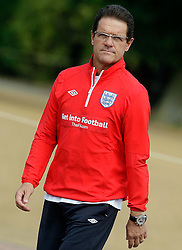 09.08.2010. Arsenal Training Ground, London, ENG, Nationalteam England Training, im Bild Fabio Capello, EXPA Pictures © 2010, PhotoCredit: EXPA/ IPS/ Marcello Pozzetti *** ATTENTION ..*** UK AND FRANCE OUT! / SPORTIDA PHOTO AGENCY