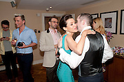 TERRY RONALD; DANNII MINOGUE;  MARK HAMMERTON; , Terry Ronald - book launch party for his book ' Becoming Nancy' . The Westbury Hotel, Pine Room, Bond Street, London, W1S 2YF<br /> -DO NOT ARCHIVE-© Copyright Photograph by Dafydd Jones. 248 Clapham Rd. London SW9 0PZ. Tel 0207 820 0771. www.dafjones.com.