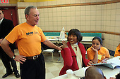 New York City Service Program in Honor of Martin Luther King Jr. Day held in Washington Hieghts, NYC